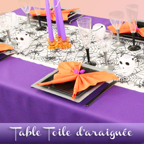 Décoration de table spécial Halloween