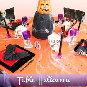 Décoration de table Halloween 2011