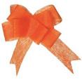Noeuds automatiques en tissu non tissé orange