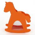 Contenant à dragées cheval, orange