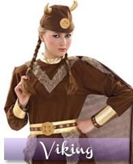 Déguisement de femme Viking