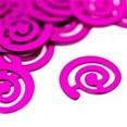Confettis de table fuchsia
