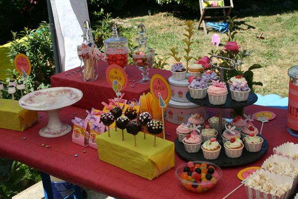Candy bars : buffets sucrés