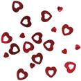 Sachet confettis coeurs, rouge