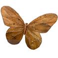 Papillon sur pince 30 x 30cm, chocolat