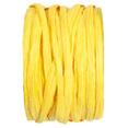 Bobine de raphia synthétique, jaune