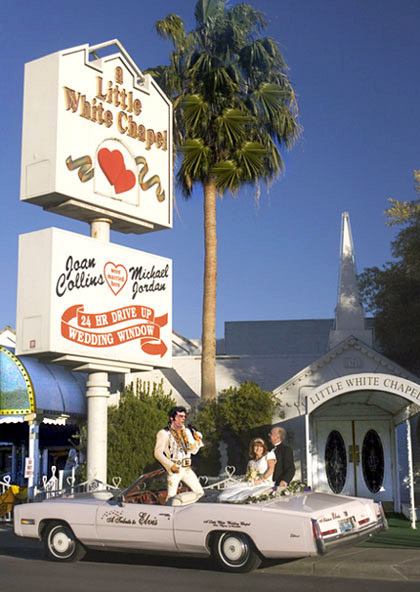 A little white chapel à Las Vegas