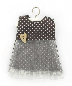 Mini robe à pois très mignonne