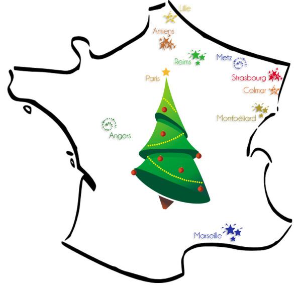Les plus beaux marchés de Noël français !