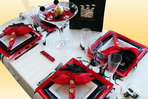 une nouvelle d coration de table amour et cin ma. Black Bedroom Furniture Sets. Home Design Ideas
