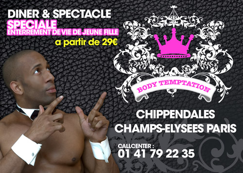 Spectacle de Chippendales